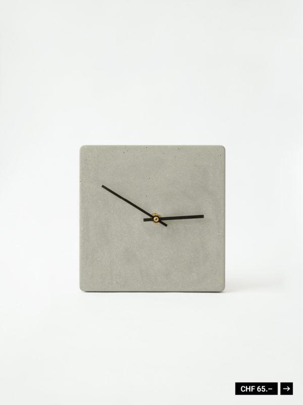 Uhr Beton